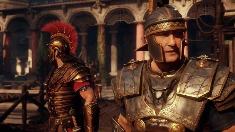 Ryse: Son of Rome - Son of Rome: Vitallion Throws Pila Into Boudica's War Elephant's Eye Cutscene