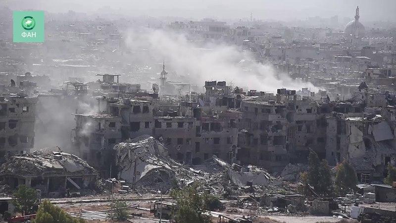 Сирия уничтожает анклав ИГ на юге Дамаска: корреспондент ФАН запечатлел бои в районе Ярмук