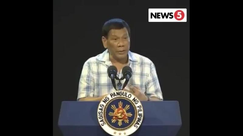 President Duterte to CPP-NPA Founder Joma Sison.