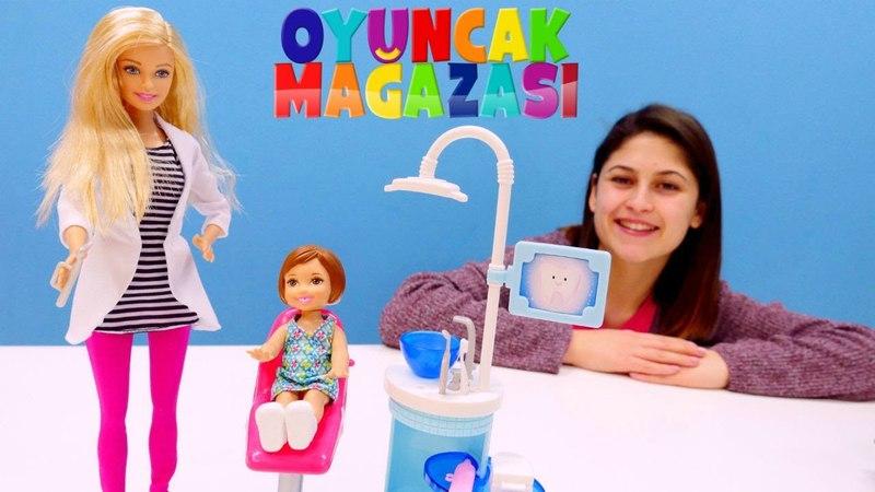 Ayşenin oyuncak mağazası. Dişçi Barbie oyuncağı açıyoruz