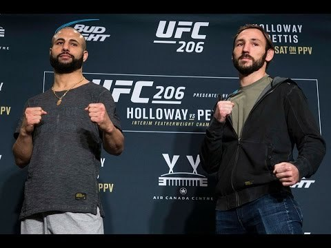 Lando Vannata and John Makdessi interview Highlights and Face Off