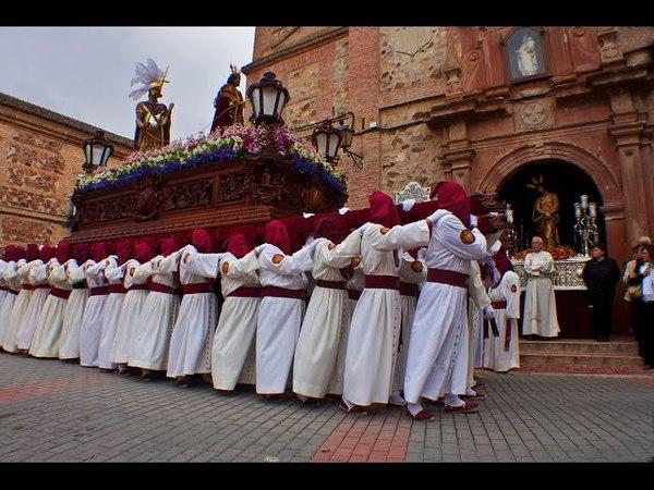 Semana Santa Herencia 2017 Пасха в Испании .