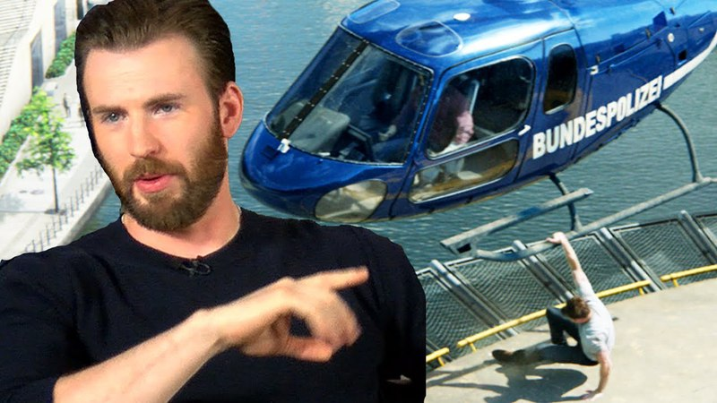 Chris Evans Talks Bulging Biceps Helicopter Scene In Captain America Civil War
