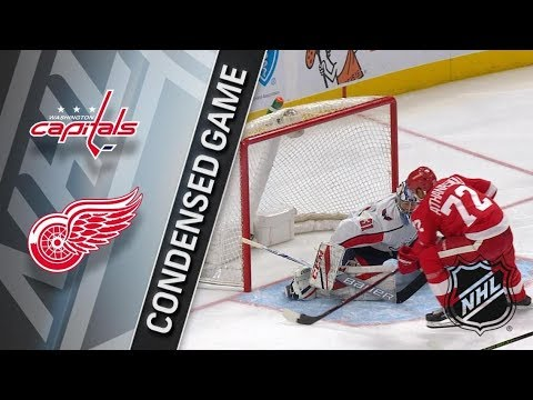 Washington Capitals vs Detroit Red Wings – Mar. 22, 2018 | Game Highlights | NHL 2017/18. Обзор