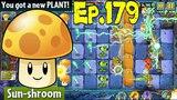 Plants vs. Zombies 2 Got a new Plant Sun-shroom - Dark Ages Night 1 (Ep.179)