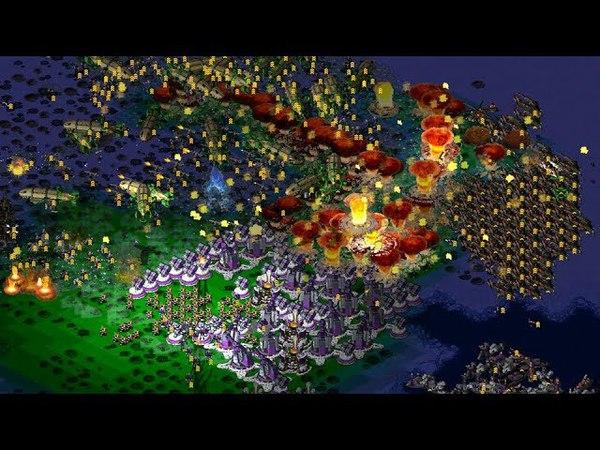Survival Map Timelapse ⌚ | Command Conquer Yuris Revenge