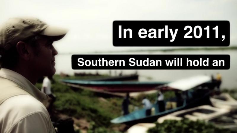 George Clooney Endgame in Sudan