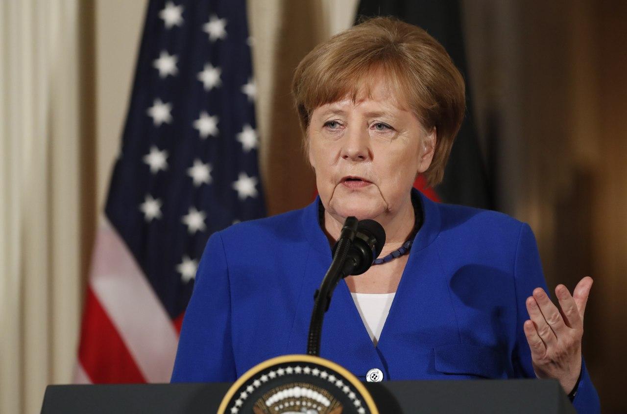 Меркель выступила с заявлением по санкциям Германии и США в отношении России