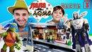 Папа Дома • Папа РОБ и Ярик. Финальный этап сборки станции Лего Сити. Часть 3