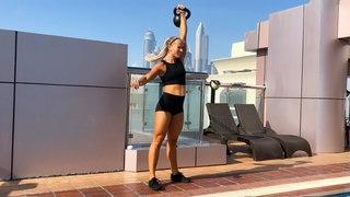Tabata Kettlebell Workout: Strength Training for Fat Loss (w/ Inger Houghton)