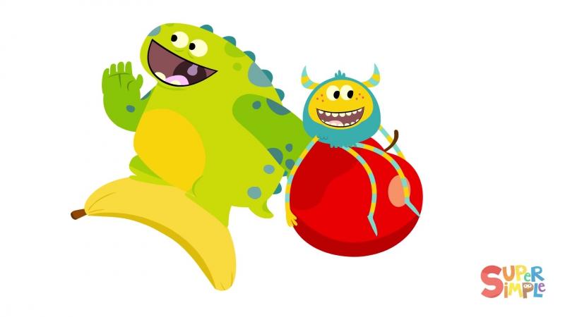 Apples Bananas ¦ Kids Songs ¦ Super Simple Songs
