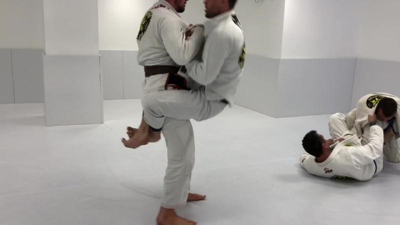 Вячеслав Ильин и Дмитрий Лапченков - Ribeiro Jiu Jitsu Russia