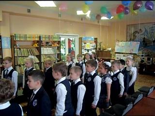 Хор 1 класса А. Песня Учат в школе.