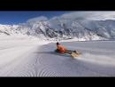 Отправляясь на горнолыжку, не забудьте взять... ласты 0_0 Fred Compagnon - Snow Bodyboarding en los Pirineos