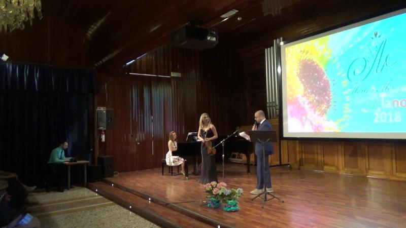 Концерт Марины Морозовой в Милане - Come prima