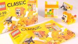 LEGO Classic Orange Creativity Box (10709) - Toy Unboxing and Speed Build