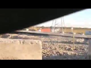 ДТП возле Мегамага - фура и джип в кювете 3.10.2017 Ростов-на-Дону Главный