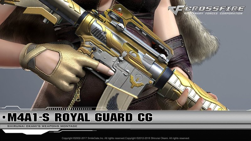 CrossFire Promotion: M4A1-S Royal Guard (CG)