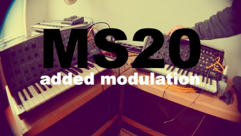 MS20 MS20 modulation racecars sounds
