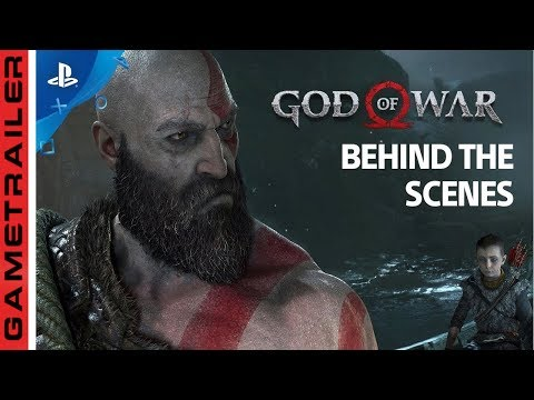 GOD OF WAR 4 SINGLE SHOT BEHIND THE SCENES PS4 2018