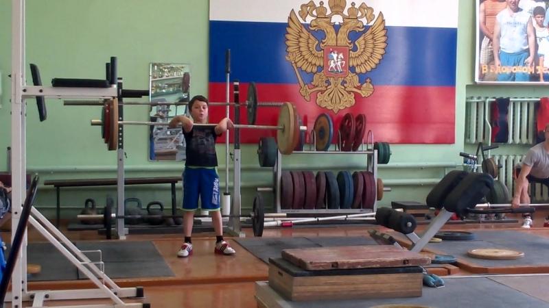 Артём Горбаченко-08 гр-т. кл.-37 кг.(соб. вес-27.50).