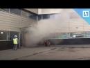 Пожар во Внуково