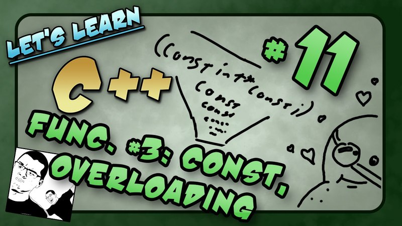 Let's Learn C ~ Basics: 11 of 14 ~ Functions p3: Const, Pre/Post Conditions