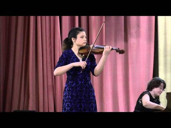 Мария Шишковская (скрипка) П.И.Чайковский Мелодия, Ф. Крейслер Прелюдия и аллегро