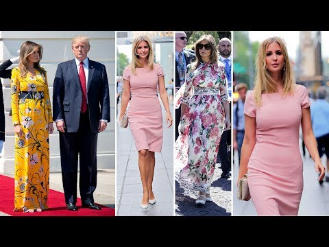 The fashion differences between Ivanka and Melania reveal the truth about their political missions