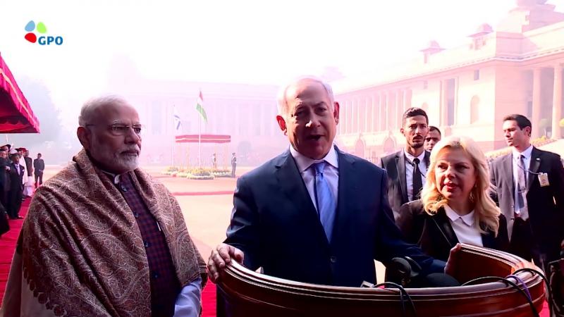 Торжественный приём премьер-министра Биньямина Натаньяhу в Индии – огромный почёт Государству Израиль