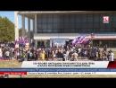 150 человек наградили значками ГТО в День герба и флага Республики Крым в Симферополе Во время праздничного концерта в Симферопо