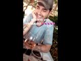 Caroline Daur Instagram Stories (12.04.2018): Короткая встреча с Биллом