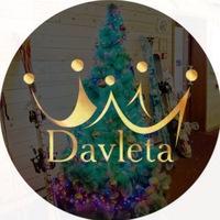Логотип Украшения Davleta: натуральный камень & дизайн