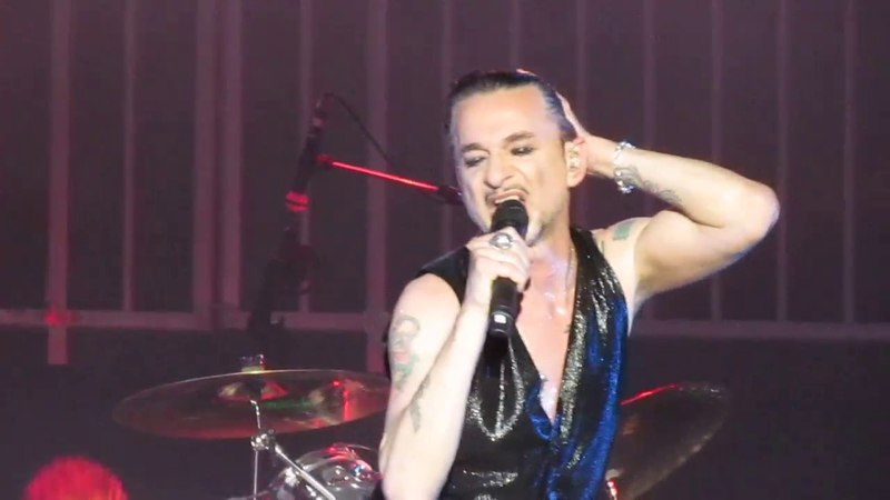 Depeche Mode 'GLOBAL SPIRIT TOUR' MARÇO 2018 Brasil Allianz Parque São Paulo selusava