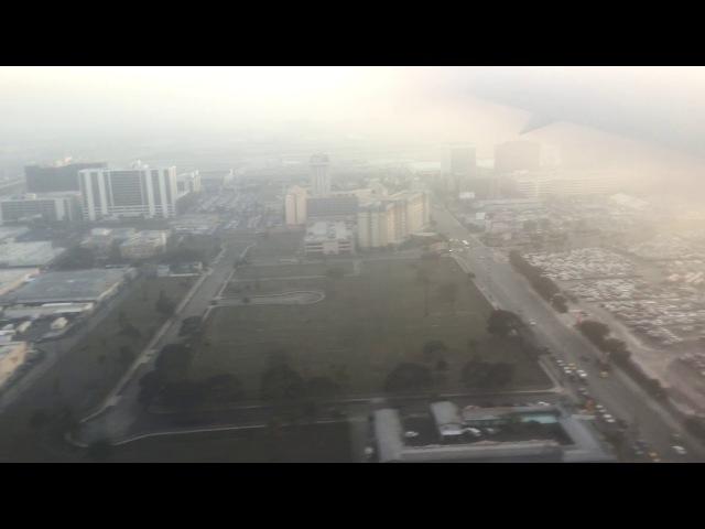 Delta B767 Landing at LAX from JFK