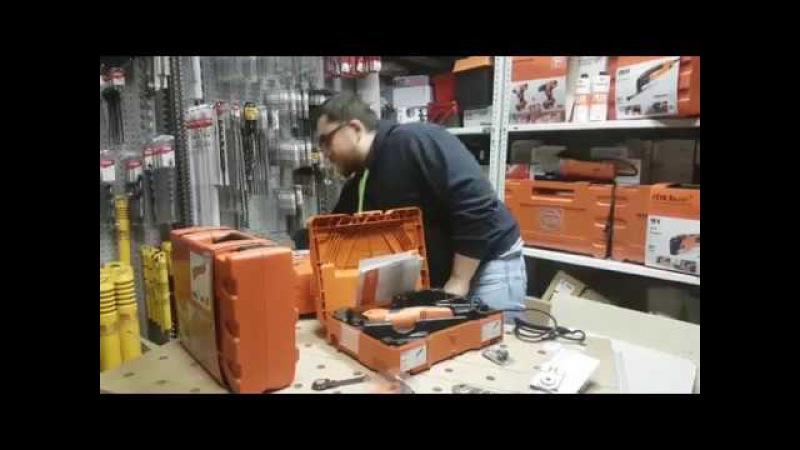 Один из лучший шуруповертов на 12 вольт ASCM 12 C Fein плюс винтоверт и резак-Распаковка