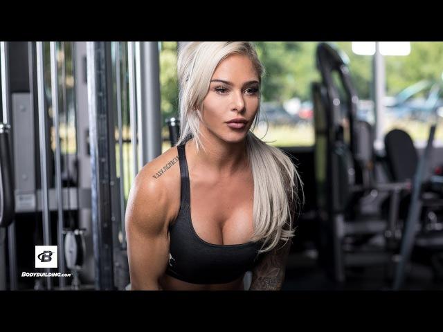 Shoulder Day Workout with Badass Cass | Cassie Mason