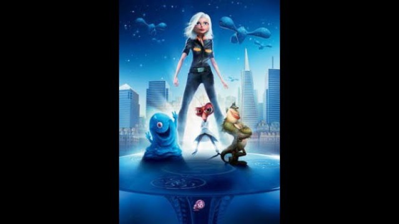 Monsters vs Aliens - прохождение2 - Спасение Насекомозавра
