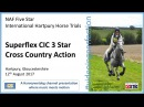International Hartpury Horse Trials Superflex CIC 3 Star Cross Country