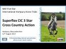 International Hartpury Horse Trials Superflex CIC 3 Star Cross Country