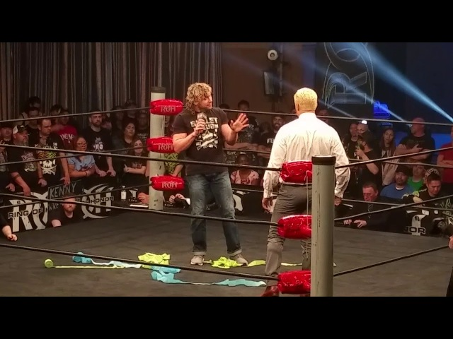 Bullet Club is DEAD!! Kenny Omega Confronts Cody at Ring of Honor 16th Anniversary TV tapings.