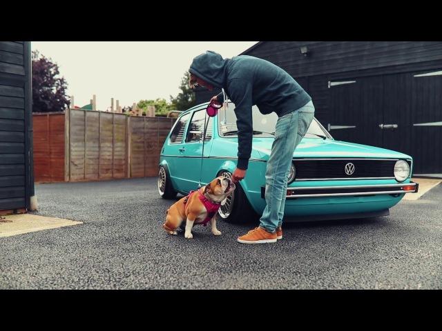 Matt's VW MK1 Golf LS - Air Suspension