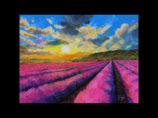 Landscape paintings of Jean-Marc Janiaczyk.