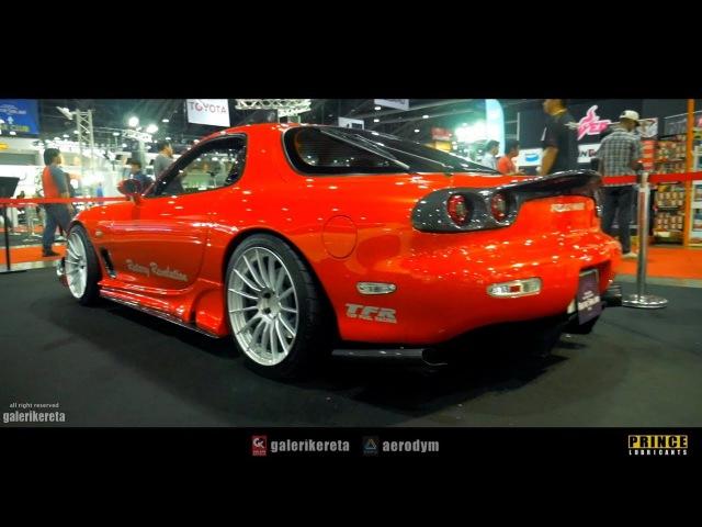 Mazda RX7 Rotary Revolution at Bangkok International Auto Salon 2017