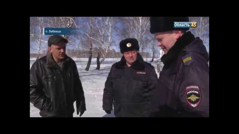 Зауральские полицейские спасли от смерти лесоруба