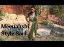 How To Wear Meenakshi Style Sari Pants Style Sari