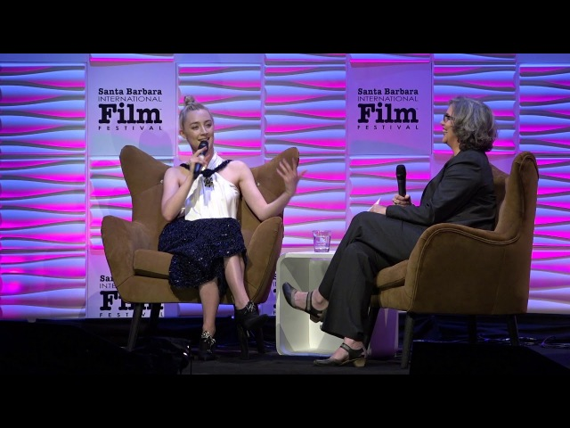 SBIFF 2018 Saoirse Ronan Introduction and Discussion About Childhood Her First Job