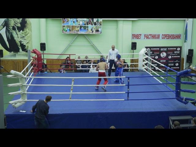 Кубок Югры по кикбоксингу 16 09 2017 бой 27