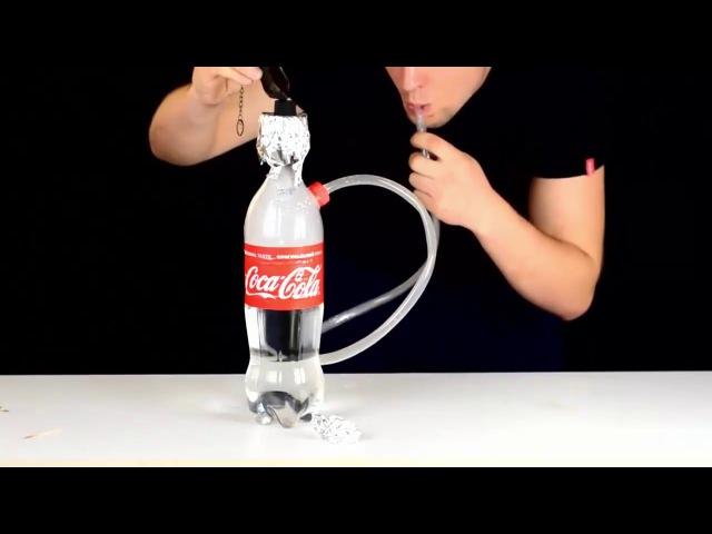 Pet şiseden basit nargile yapımı