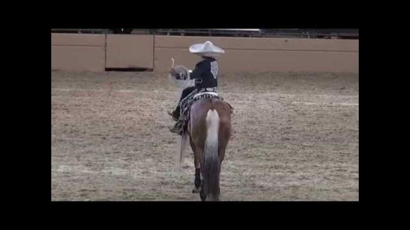 Tomas Garcilazo - Charro Tradicional - Night of the Horse 2014